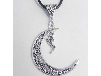 Älva måne halsband / Fairy moon necklace
