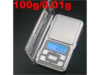 Digital Våg Pocket scale 0-100g / 0.01g finkalibrerad - Beijing - Digital Våg Pocket scale 0-100g / 0.01g finkalibrerad - Beijing