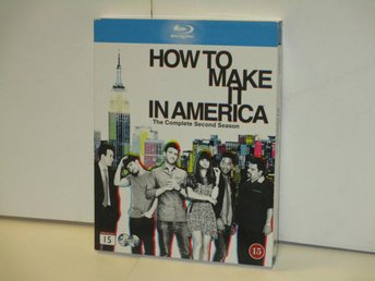 HOW TO MAKE IT IN AMERICA (Blu-Ray) - SÄSONG 2 - MKT FINT SKICK!
