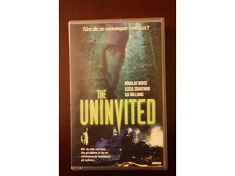 The Uninvited med Douglas Hodge, Leslie Grantham och Lia Williams, VHS