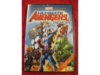 ULTIMATE AVENGERS (1) THE MOVIE - ANIMATED MARVEL - NY INPLASTAD DVD