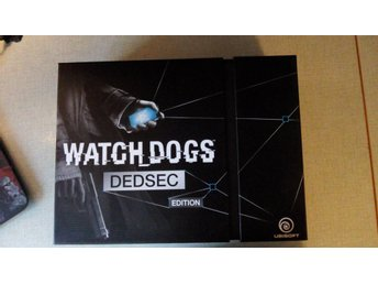 Watch Dogs Dedsec Edition komplett i bra skick PS4 - Alingsås - Watch Dogs Dedsec Edition komplett i bra skick PS4 - Alingsås