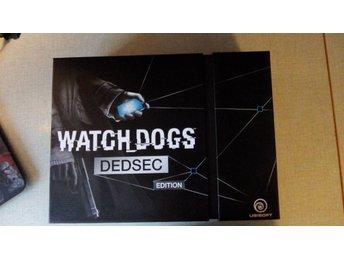Watch Dogs Dedsec Edition komplett i bra skick PS4 - Alingsås - Watch Dogs Dedsec Edition komplett i bra skick PS4 - Alingsås