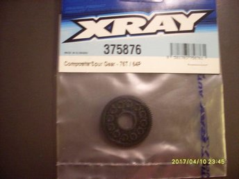 Xray drev 64Pitch/ 76T Composite