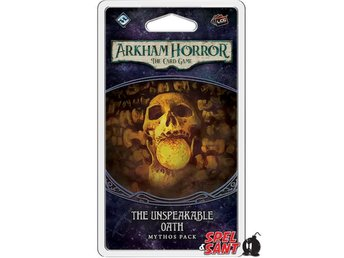 Arkham Horror the Card Game The Unspeakable Oath Mythos Pack