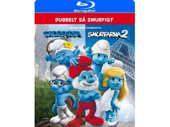 Smurfarna  1+2 (2 Blu-ray)