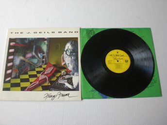 THE J. GEILS BAND-FREEZE FRAME 1981. VG+/VG++