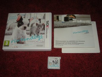 3DS Nintendogs + Cats French Bulldog