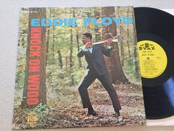 Lp Eddie Floyd-Knock on Wood very rare US org på Stax