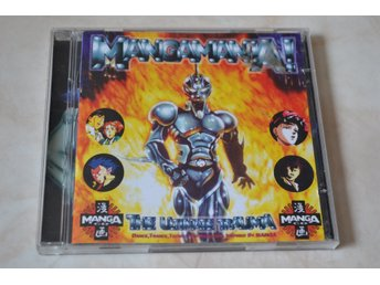 Mangamania! The Ultimate Traula 2st CD Komplett Fint Skick