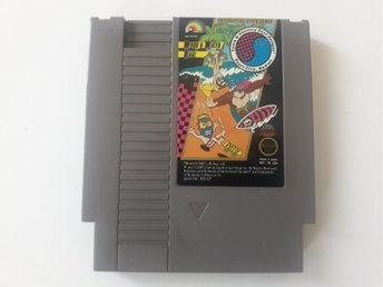 T&C Surf Designs Wood and Water Rage NES Nintendo NTSC Amerikansk
