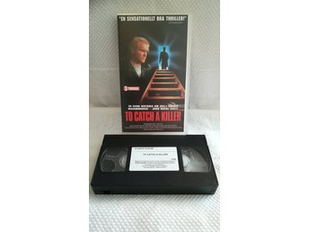 To catch a killer [ Brian Dennehy ] VHS (Svensk utgåva) * RARITET *
