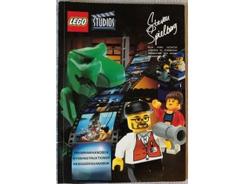 LEGO Studios Steven Spielberg Moviemaker - Manual, bok (program, bygg, regissör)