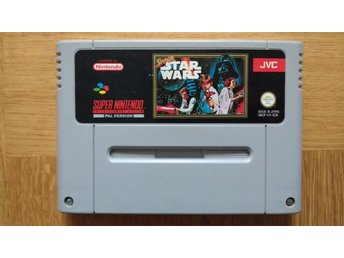 Super Nintendo/SNES: Super Star Wars (svensksålt/SCN)