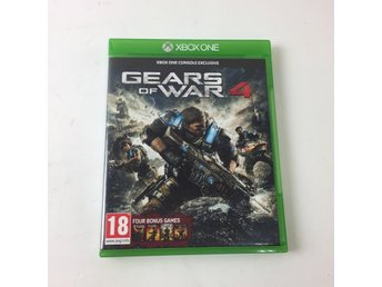 XBOX ONE, TV-Spel, Gears of War 4