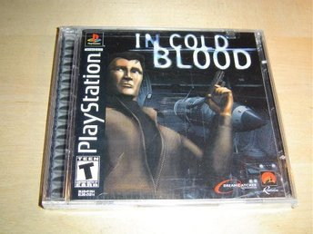 In Cold Blood Sony Playstation Amerikanskt USA NTSC *NYTT*