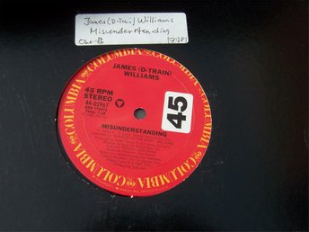 "JAMES (D TRAIN) WILLIAMS - MISUNDERSTANDING 12"" 1986"