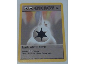 Pokémon Double Colorless Energy