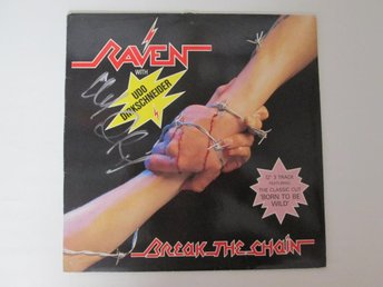 "RAVEN - ""BREAK THE CHAIN"" 12"" - SIGNERAD AV UDO - SIGNED"