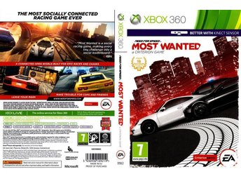 NEED FOR SPEED MOST WANTED TILL XBOX 360. FELFRI.