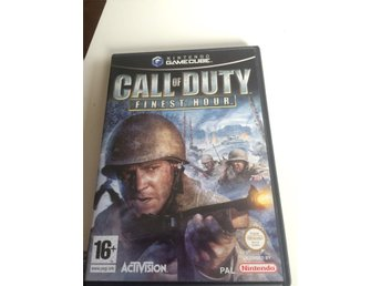 GAME CUBE spel CALL OF DUTY