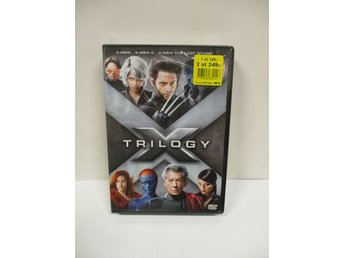 X-Men Trilogy (3-disc) - MKT FINT SKICK!