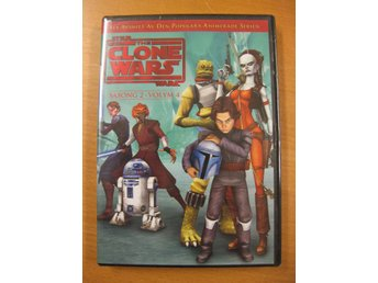 STAR WARS THE CLONE WARS - SÄSONG 2 V4 - 6 EPISODER- NY, INPLASTAD DVD