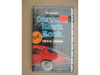 The Genuine Corvette Black Book 1953-1989