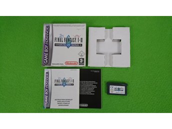 Final Fantasy Dawn of Souls 1-2 KOMPLETT GBA Gameboy Advance Nintendo