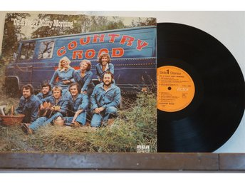 Country Road - On A Foggy Misty Morning - LP (Vinyl)