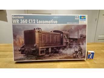 German WR 360 C12 Locomotive 1/35