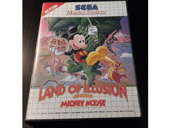 Land Of Illusion Starring Mickey Mouse - Komplett - Sega Master System