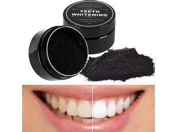 Teeth Whitening Charcoal - Tandblekning 30g
