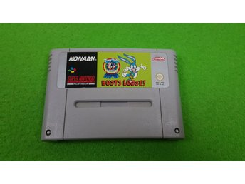 Buster Busts Loose Super Nintendo Snes tiny toon
