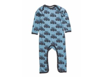 NY Småfolk design dress bodysuit pyjamas traktor traktorer farm stl 56