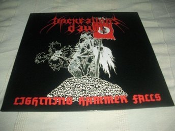 UNCREATION'S DAWN-Lightning Hammer Falls [LP] 2005 Ny! Black War Metal