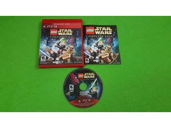Lego Star Wars The Complete Saga KOMPLETT Ps3 Playstation 3