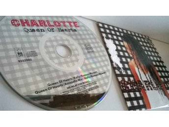 Charlotte - Queen of hearts, single CD