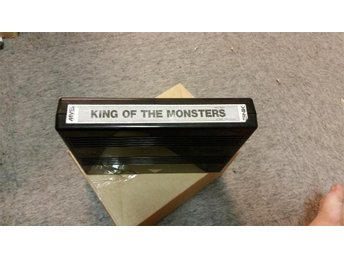 KING OF THE MONSTERS NEO GEO MVS SNK CART - Uddevalla - KING OF THE MONSTERS NEO GEO MVS SNK CART - Uddevalla