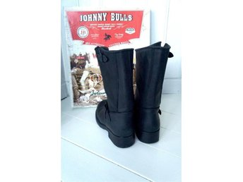 Svarta Johnny Bulls Hi Biker boots Strl 37 (38) - Skutskär - Svarta Johnny Bulls Hi Biker boots Strl 37 (38) - Skutskär