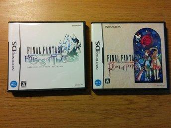 Japanska Final Fantasy spel till Nintendo DS / 3DS / 2DS - Sala - Japanska Final Fantasy spel till Nintendo DS / 3DS / 2DS - Sala