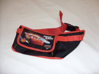 Disney & Pixar Cars Lightning McQueen Midje Väska för barn children bag