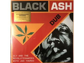 SLY & THE REVOLUTIONARIES - BLACK ASH DUB NY 180G ORANGE VINYL LIMITED