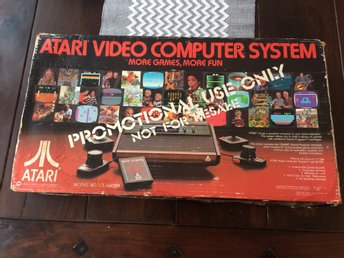 "Boxad Atari 2600 ""Promotional use only"" RARE"