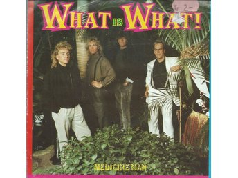 WHAT IS WHAT - MEDICINE MAN ( VINYL SINGLE )