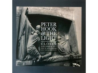 Peter Hook And The Light ‎–Closer Liv 2011 d/cd Joy Division