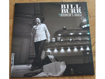 BILL BURR - Live At Andrew's House (Third Man Records, Jack White)