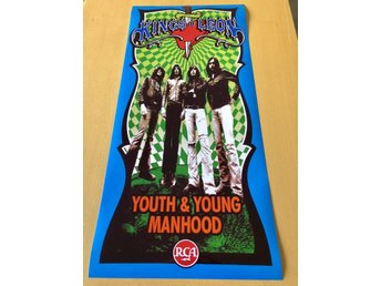 KINGS OF LEON YOUTH & YOUNG MANHOOD 2003 POSTER PHOTO POSTER