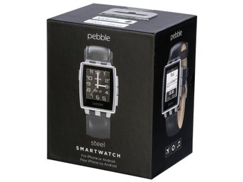 Pebble Steel Smartwatch Android & ios