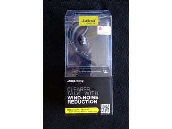 a0314944cf4 Jabra Wave Wireless Bluetooth black Headset BT3040 Wind Noise Reduction  Black
